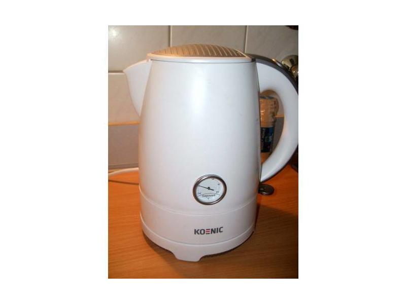 KOENIC KWK 2130 W Wasserkocher Weiß