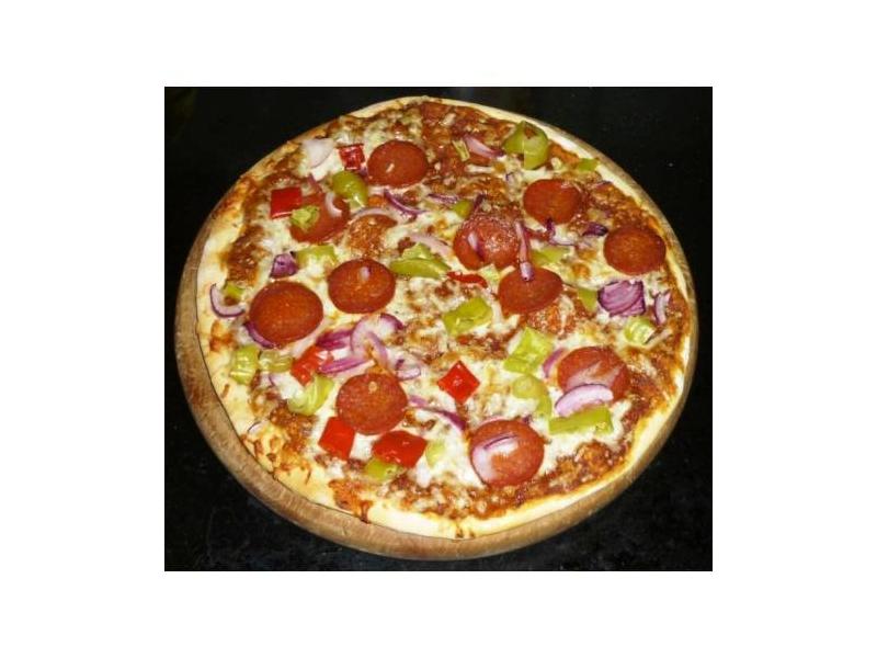 Scharfe pizza bei lidl