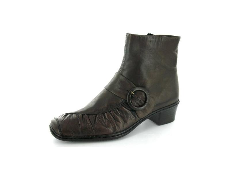 Rieker Damen 785F5 Kurzschaft Stiefel, Braun (CayenneWood