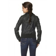 Only-lederimitat-jacke