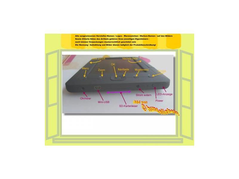 Computer, Tablets & Netzwerk Sinnvoll Bruni 2x Folie Für Trekstor Ebook Player 7 Schutzfolie Displayschutzfolie