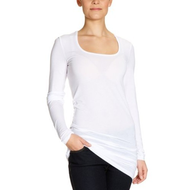 Damen-long-shirt-weiss