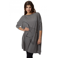 Damen-long-shirt-grau