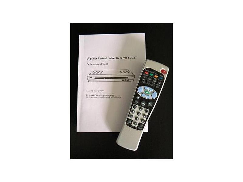 Digitaler Satelliten Receiver sl 25 Receiver Comag sl 25 t