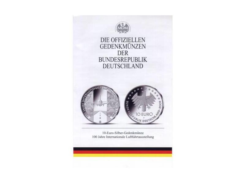 Bundesrepublik Deutschland 10 Euro Gedenkmünze 100 Jahre