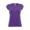 Damen-t-shirt-lila