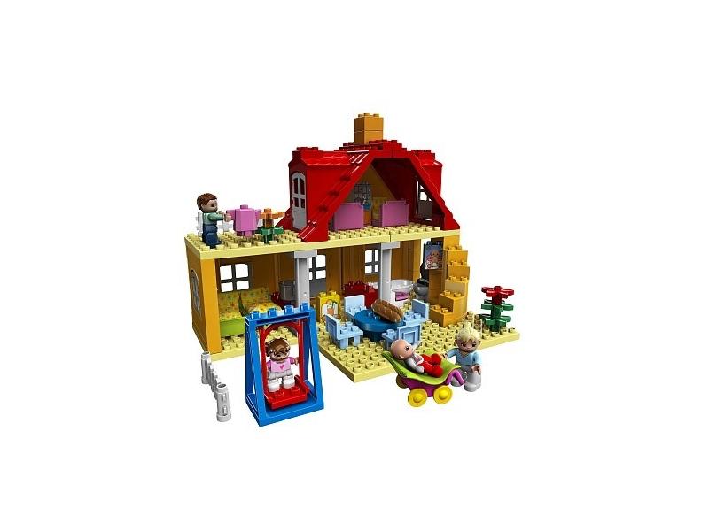 lego duplo ville 5639 familienhaus preisvergleich. Black Bedroom Furniture Sets. Home Design Ideas
