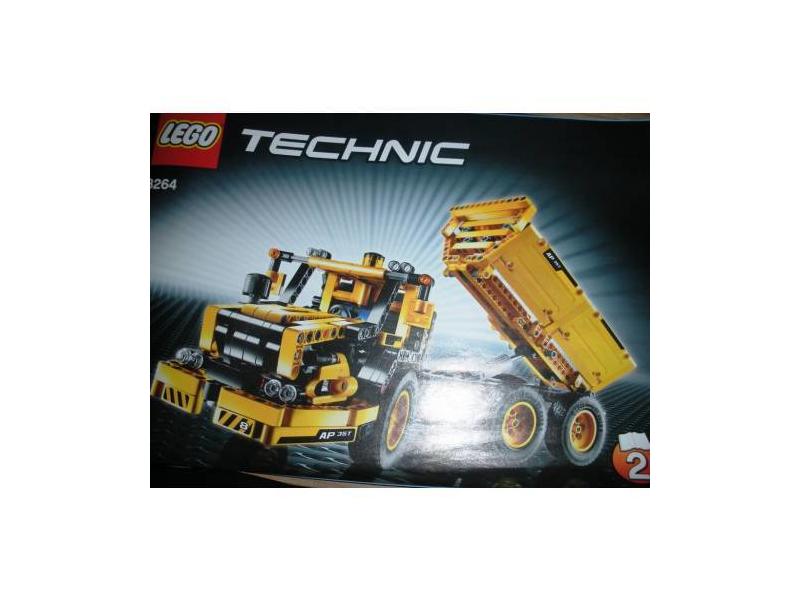 lego technic 8264 knickgelenk laster preisvergleich. Black Bedroom Furniture Sets. Home Design Ideas