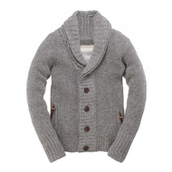 Superdry-strickjacke