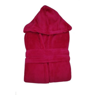 Damen-bademantel-fleece
