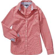 Neu M bis XL Tommy Hilfiger Shirt Bluse Damen rot kariert Gr 737