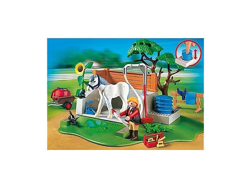 Playmobil 4193 pferde waschplatz preisvergleich testberichte und g nstige angebote bei - Pferde playmobil ...