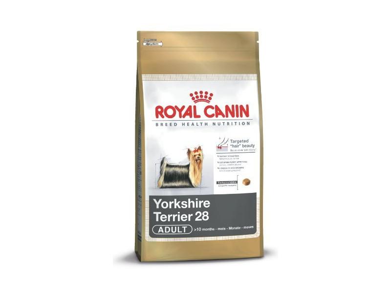 royal canin yorkshire terrier 28 adult preisvergleich testbericht und g nstige angebote bei. Black Bedroom Furniture Sets. Home Design Ideas