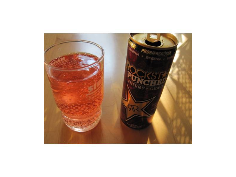 Rockstar Punched Guava Energy Drink